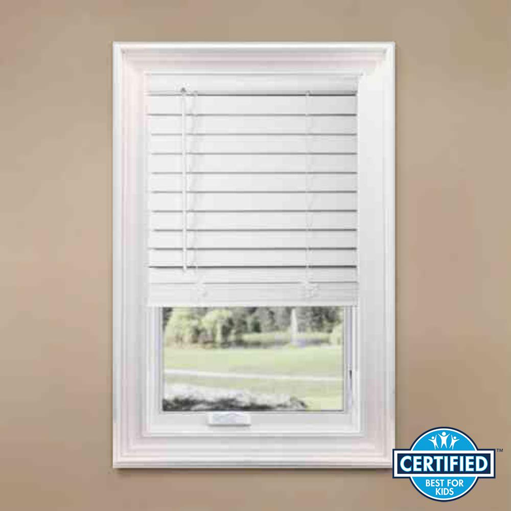 home depot faux wood blinds instructions