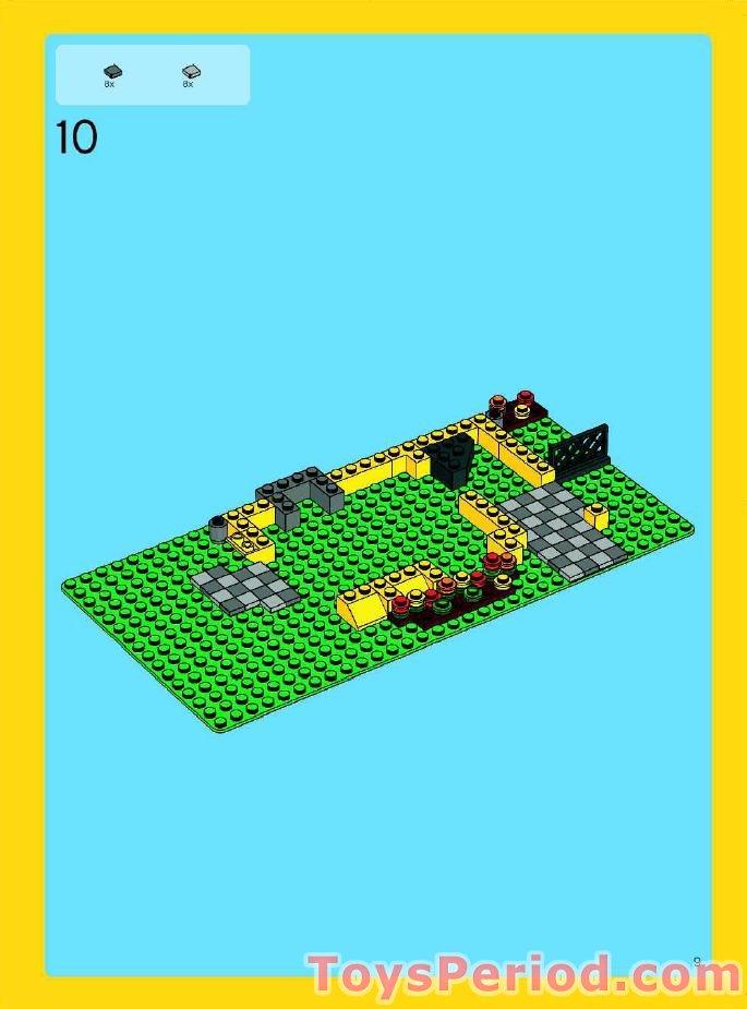 lego beach house instructions