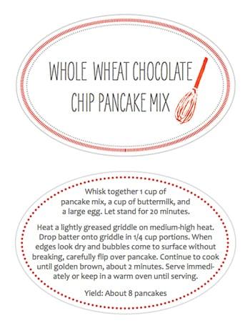 whole foods pancake mix instructions