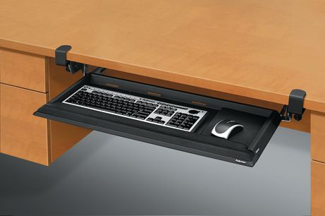 fellowes keyboard drawer installation instructions