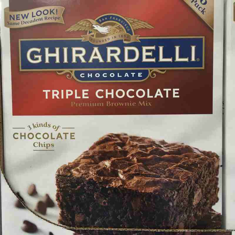 ghirardelli chocolate chip cookie mix instructions