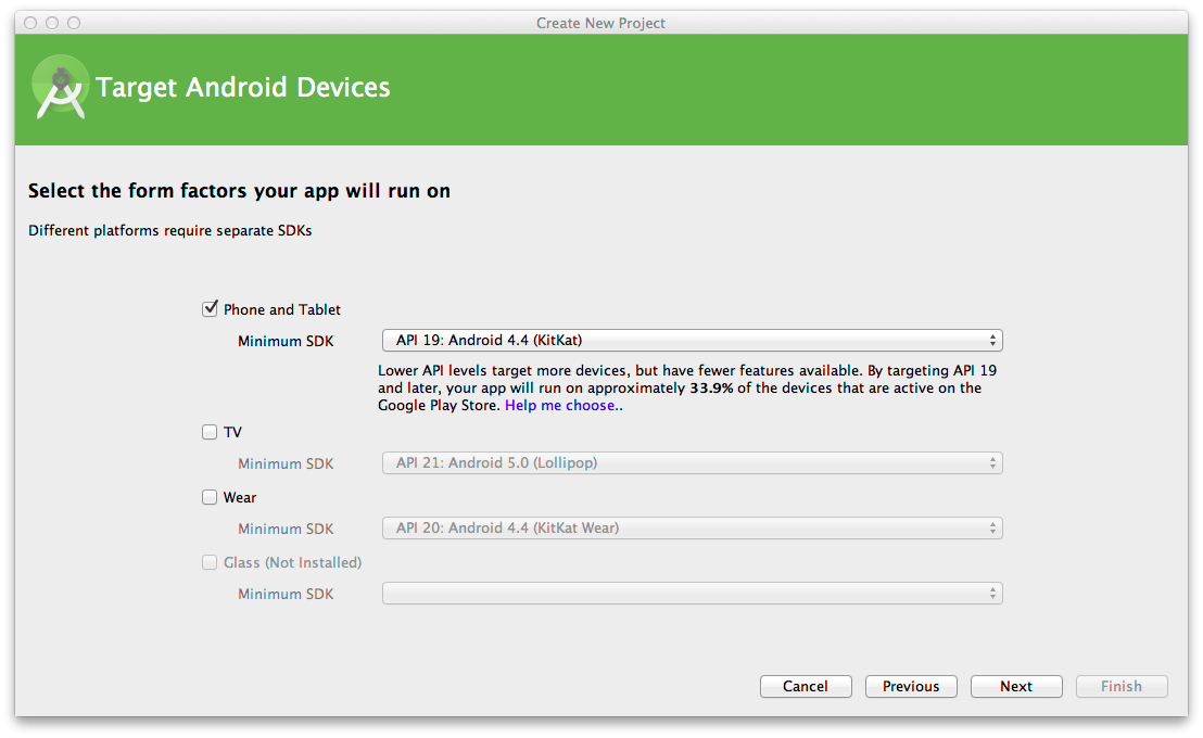 android studio install instructions