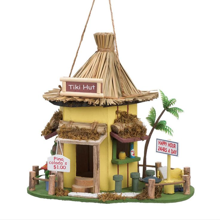tropics express tiki hut instructions