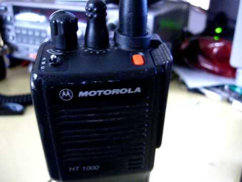 motorola ht1250 programming instructions