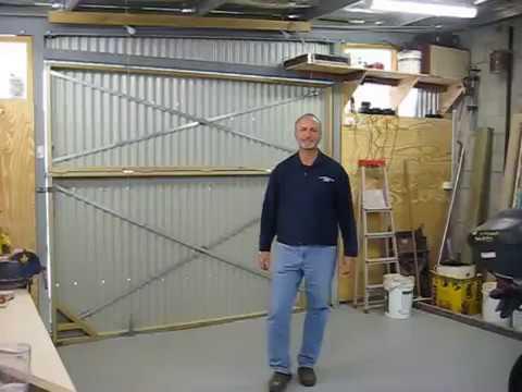 holmes one piece garage door hardware installation instructions