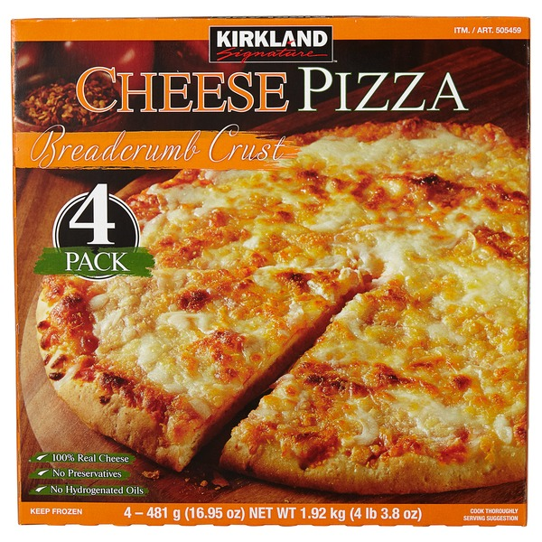 kirkland cheese pizza instructions