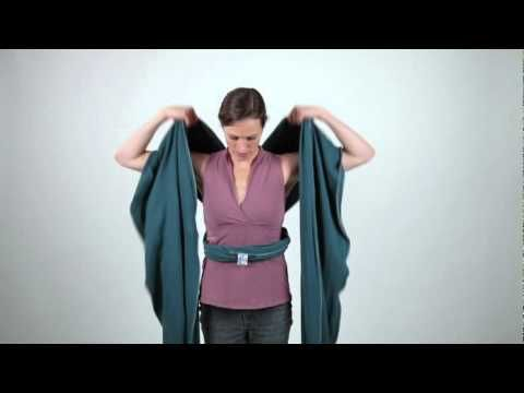 moby wrap ring sling instructions