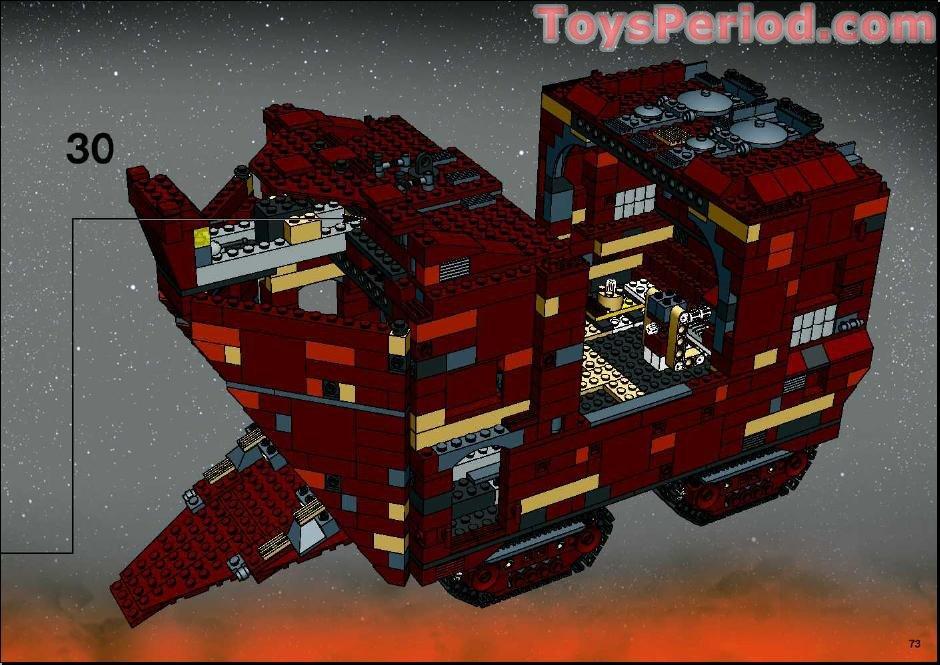 lego sandcrawler 10144 instructions