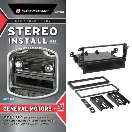scosche dash install kit instructions