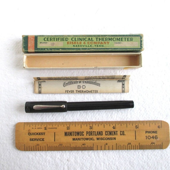 bd thermometer 524034 instructions