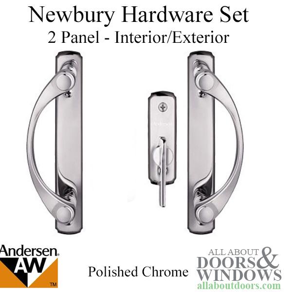 pella sliding door handle installation instructions