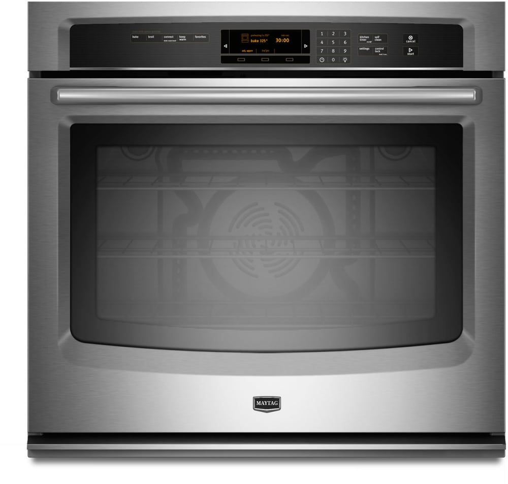 maytag convection oven instructions