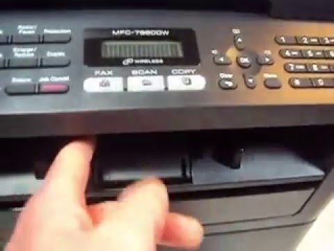 brother mfc 7860dw drum unit reset instructions