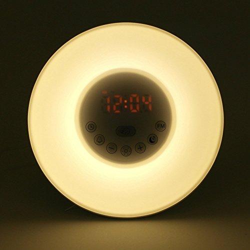 sunrise alarm clock instructions