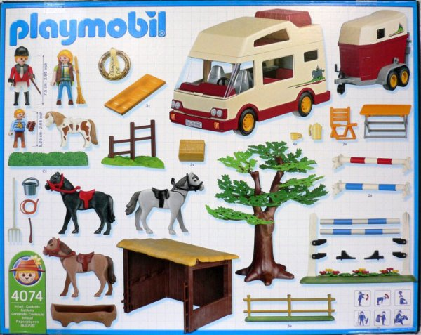 playmobil pony ranch instructions