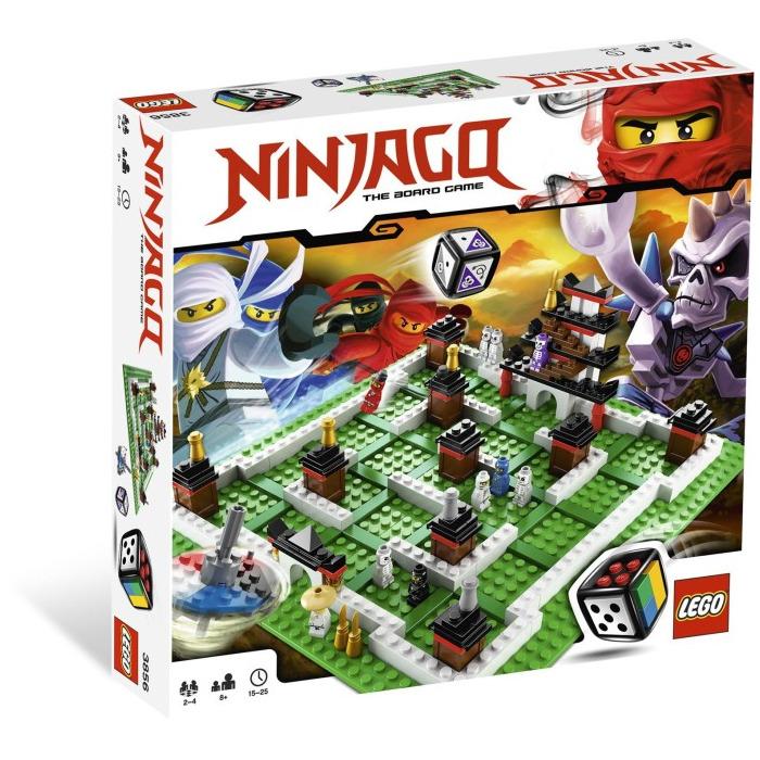 lego ninjago board game instructions