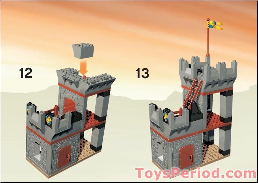 lego duplo castle instructions