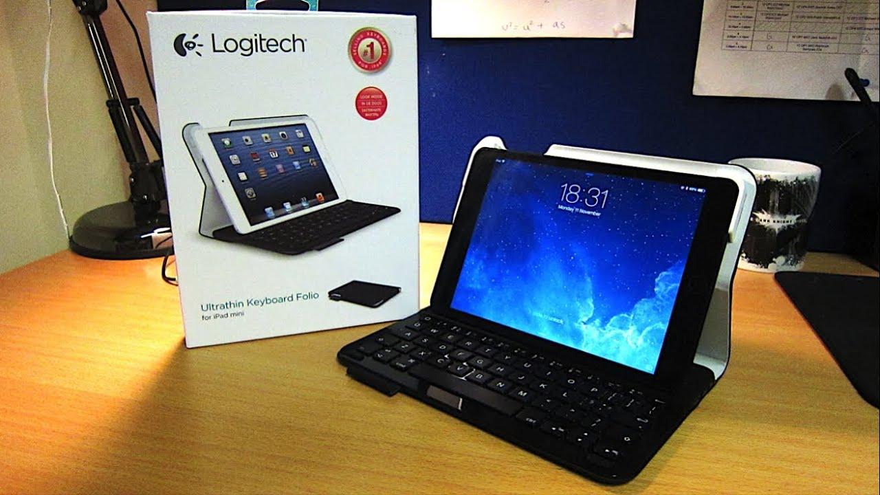 logitech ipad mini keyboard instructions
