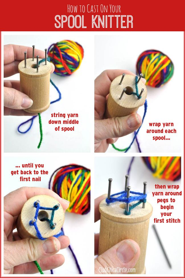 knitting loom instructions video