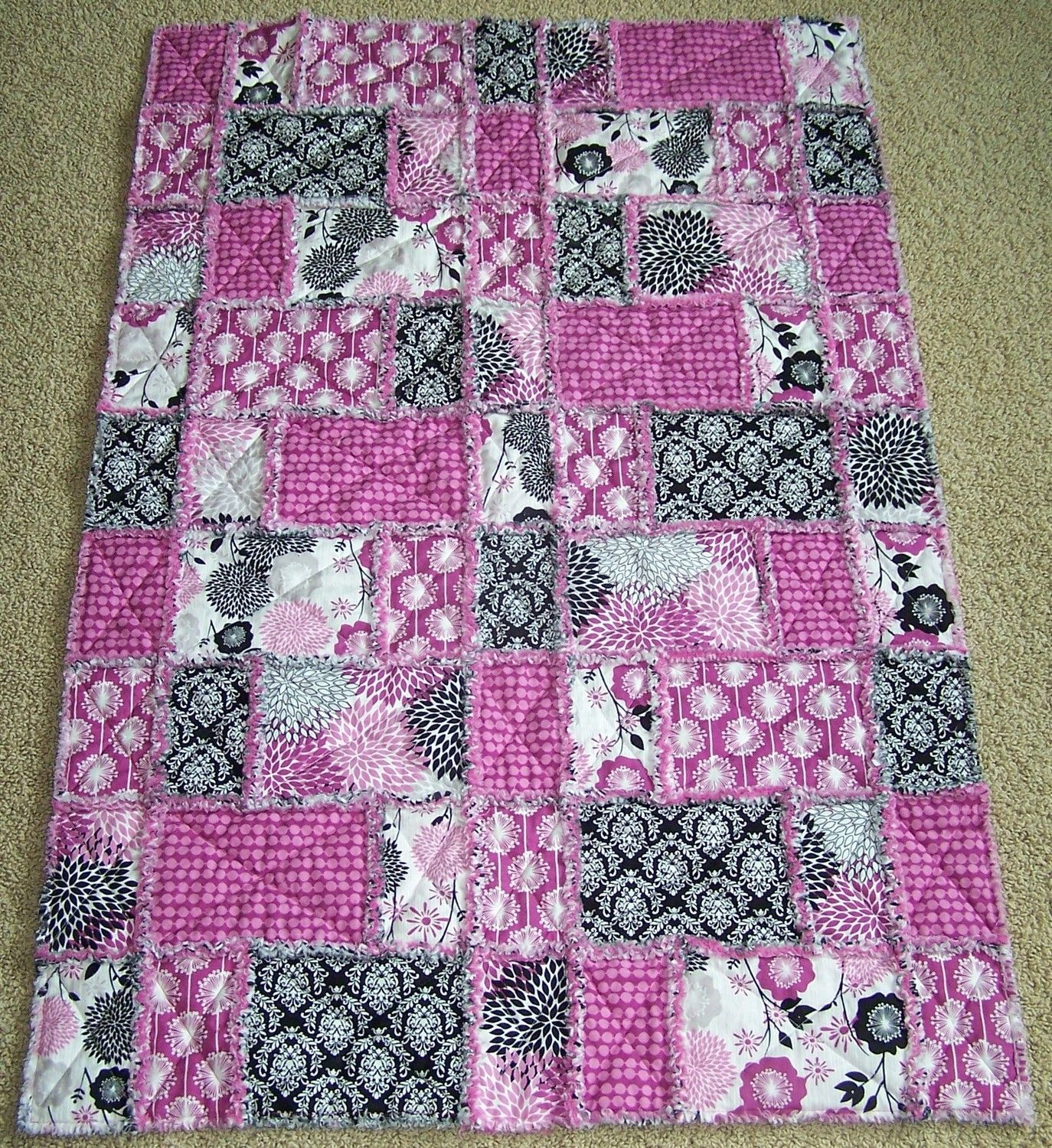 flannel rag quilt instructions