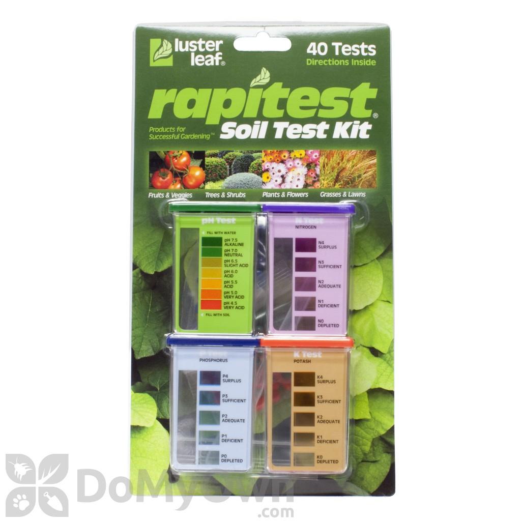 rapitest ph soil tester instructions