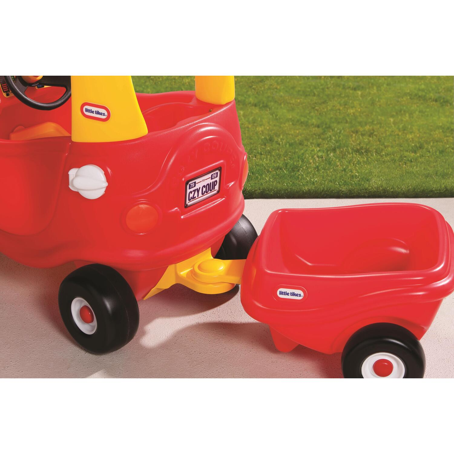 cozy coupe trailer instructions