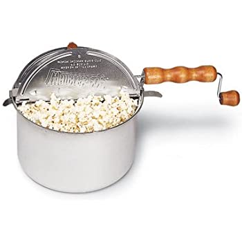 whirley pop popcorn maker instructions