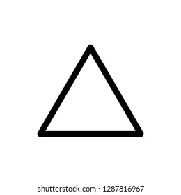 triangle sign washing instructions