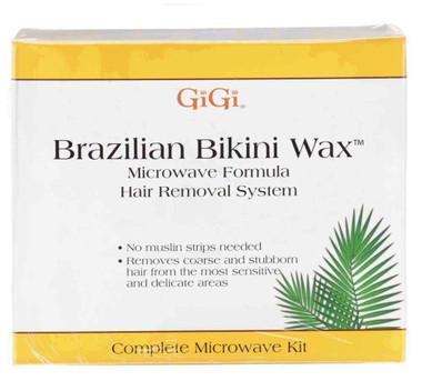 gigi brazilian bikini wax microwave kit instructions