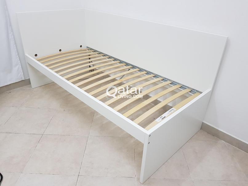 leirvik bed frame instructions