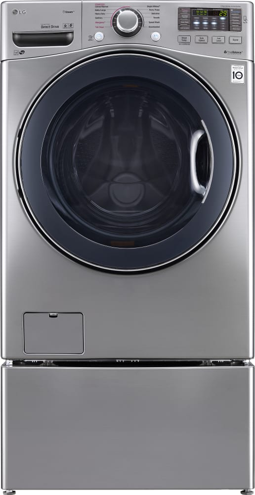 lg pedestal washer instructions