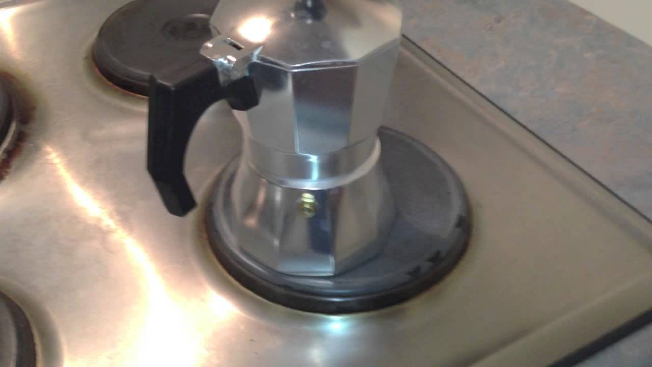 stovetop espresso coffee maker instructions
