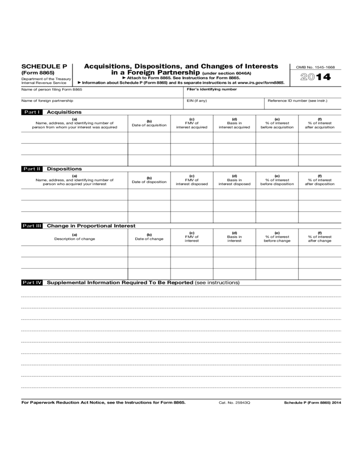 irs form 8865 instructions