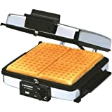 salton rotary belgian waffle maker instructions