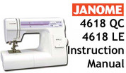 janome 4618qc instruction manual