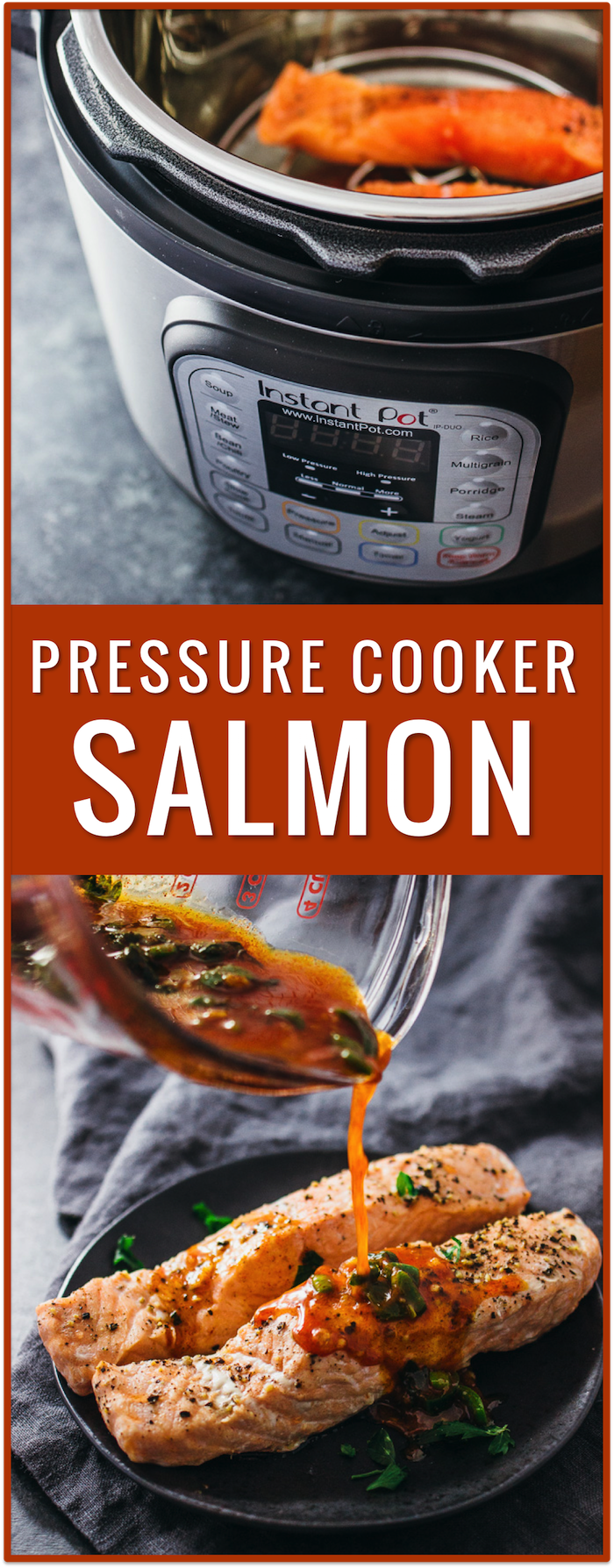 pressure cooking fish instructions