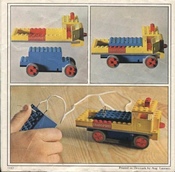 lego transport truck instructions