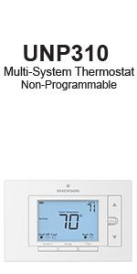emerson digital thermostat instructions