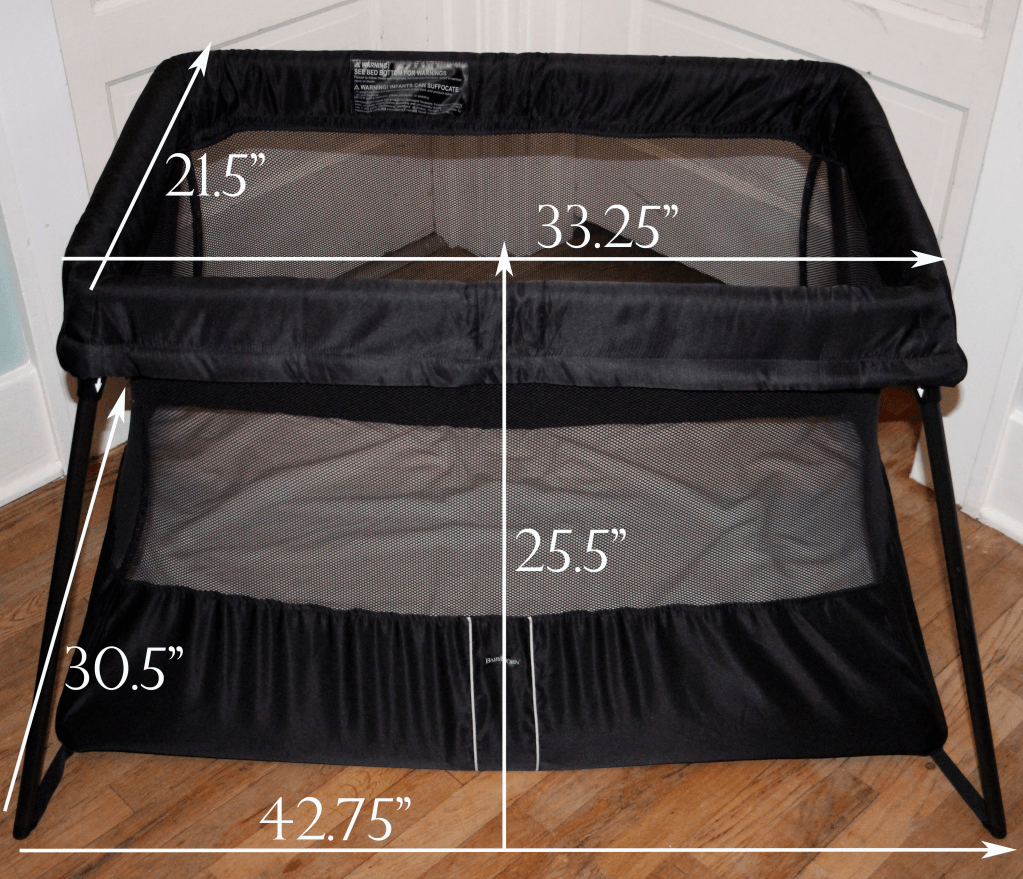 baby bjorn travel crib instructions