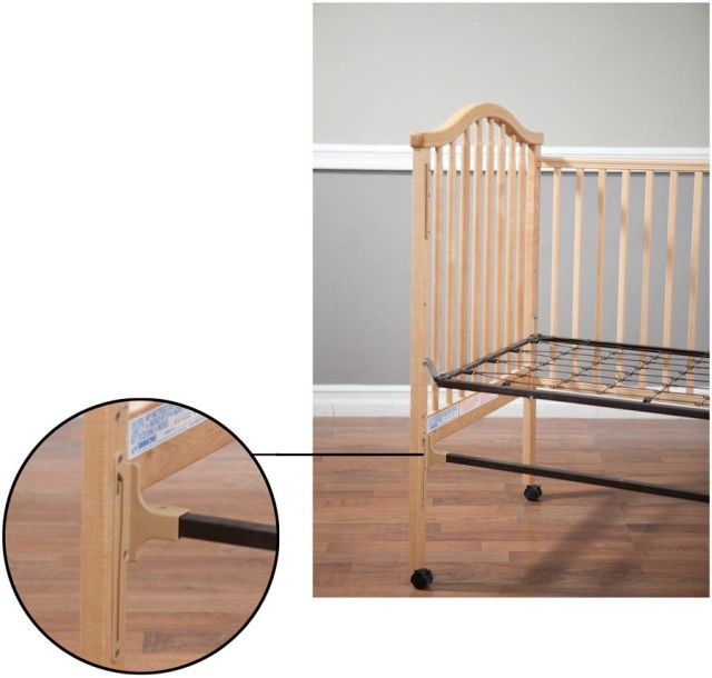 bassett drop side crib assembly instructions