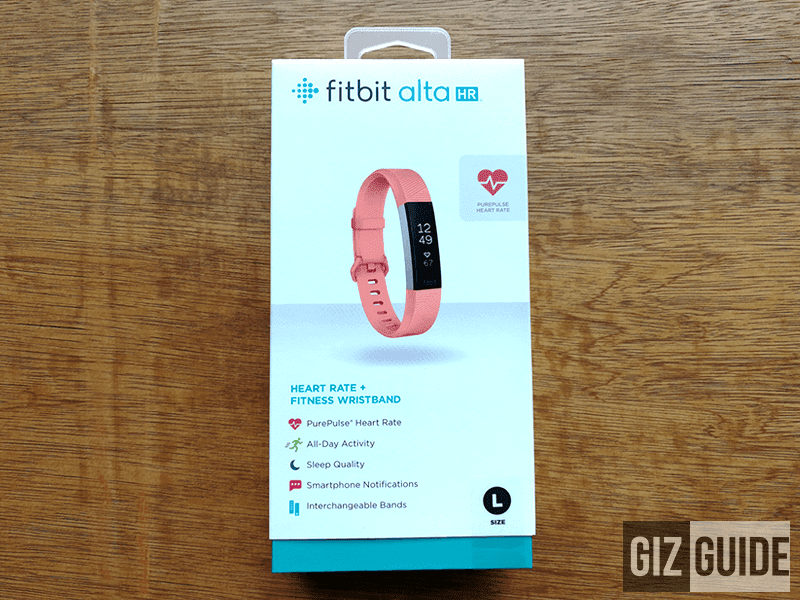 fitbit alta setup instructions android