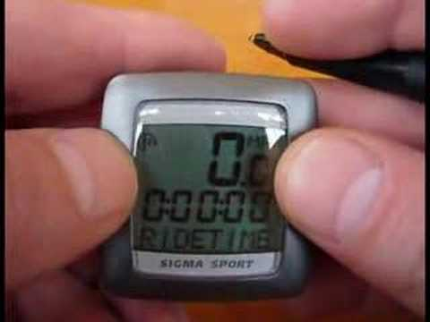 bell bike speedometer instructions