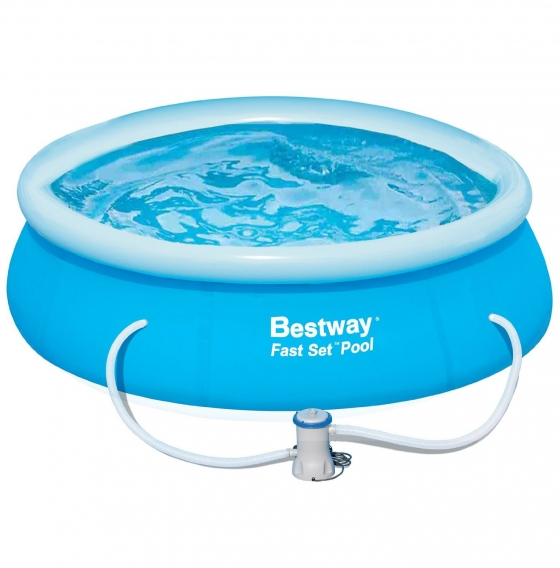 bestway fast set pool filter instructions