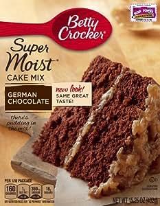 betty crocker cake mix instructions on the box