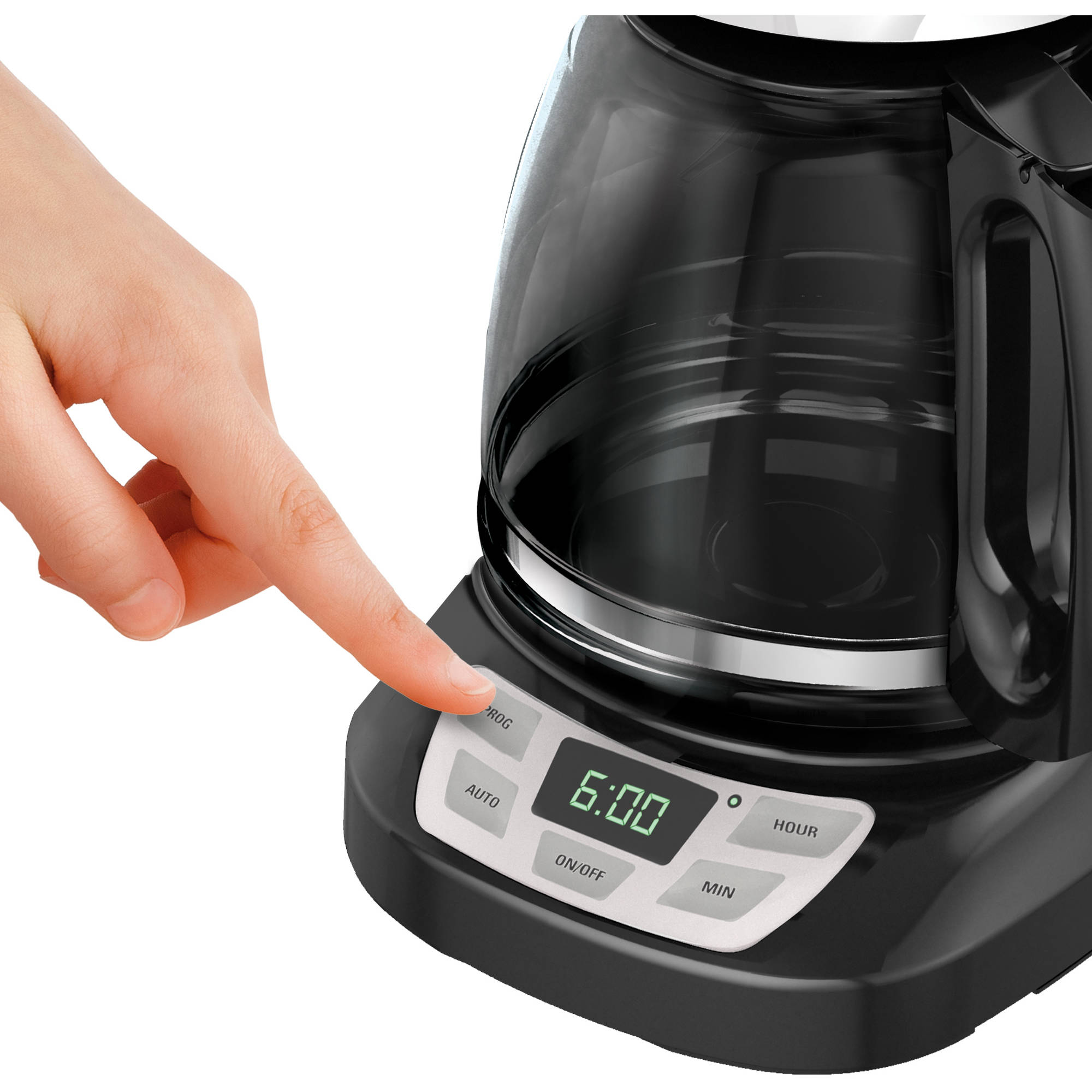 black and decker coffee maker auto clean instructions