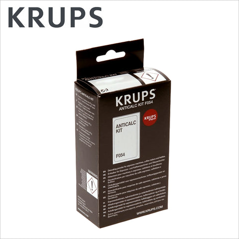 krups anticalc kit f054 instructions