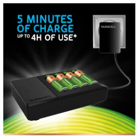 duracell 15 minute battery charger instructions