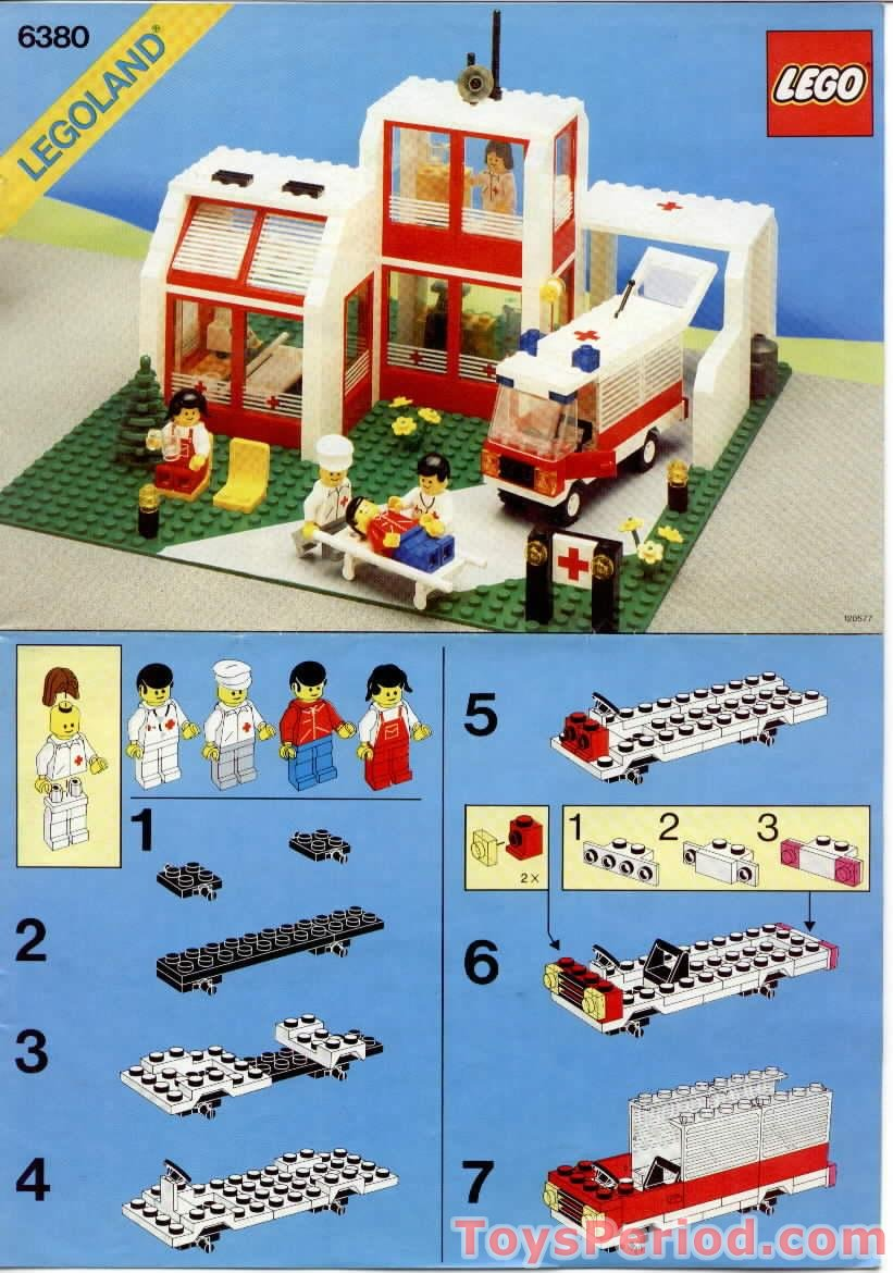 instruction de montage lego classic