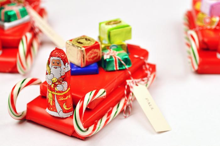 candy cane sleigh instructions