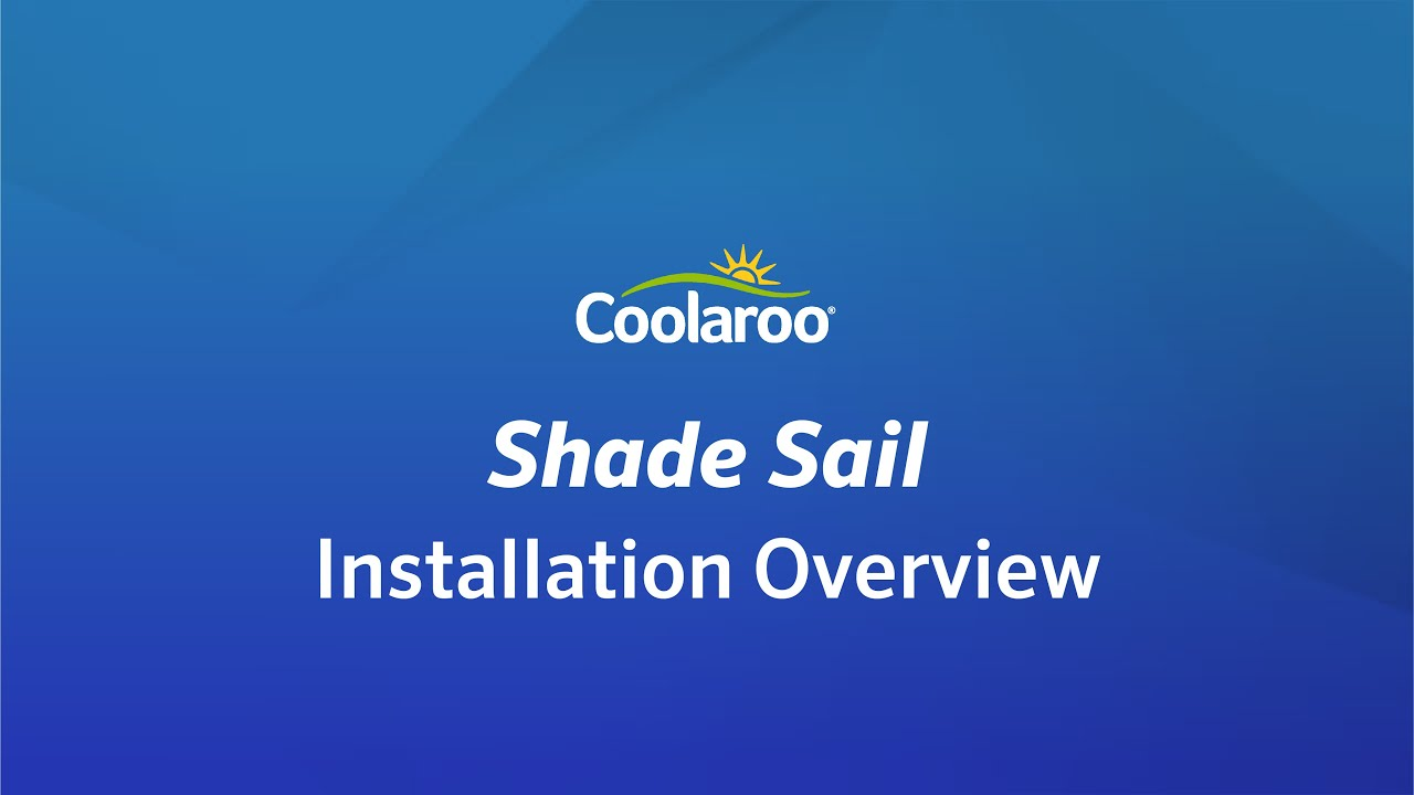coolaroo sun shade installation instructions